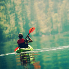 Kayak au Lac du Jaunay